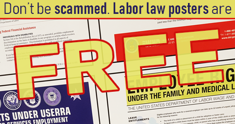 Labor Law Posters are Free