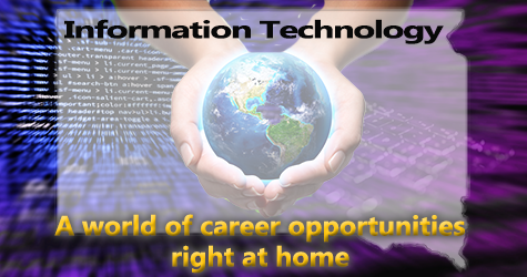 World of Career Opportunities: Information Technology