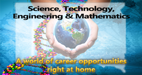 World of Career Opportunities: Science, Technology, Engineering and Mathematics