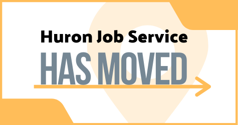 Huron Job Service has moved