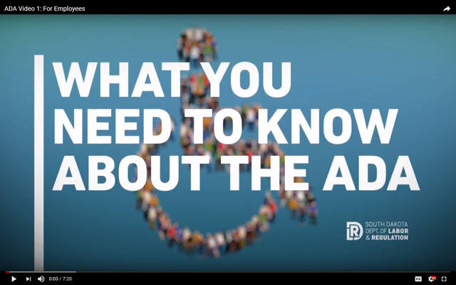What You Need to Know about the ADA video for Employees