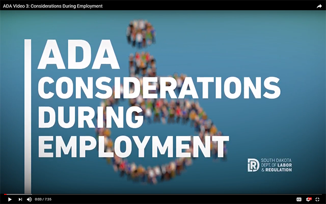 ADA Considerations During Employment