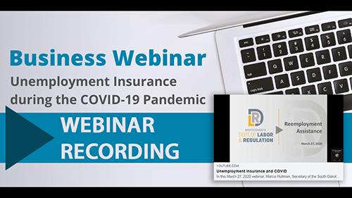 Business webinar recording available